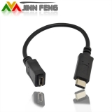 USB 3.1 Type C Male Connector to Micro USB 2.0 Female Data Cable.